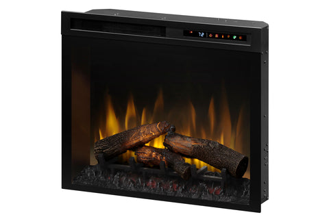Dimplex 28'' Multi-Fire XHD Plug-In Electric Firebox Insert - Logs | XHD28L | Electric Fireplaces Depot