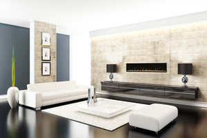 "Dimplex IgniteXL 74"" Linear Built in Electric Fireplace"