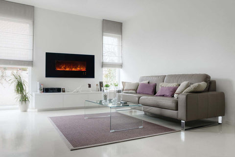 Image of Modern Flames Ambiance 60 Inch Wall Mount Electric Fireplace - Built In - AL60CLX2 - Electric Fireplaces Depot