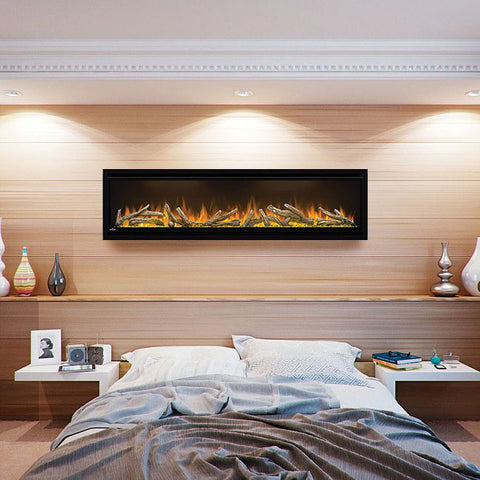 Napoleon Alluravision 60-inch Wall Mount Electric Fireplace - Deep - NEFL60CHD - Electric Fireplaces Depot