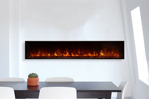 "Modern Flames Landscape View 80"" Built-In Electric Fireplace"