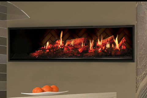 Dimplex 55'' Opti-V Duet Virtual Built-In Eelectric Fireplace