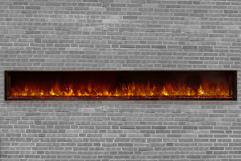 Modern Flames Landscape Full View 120 inch Built-In Linear Electric Fireplace - Electric Fireplaces Depot