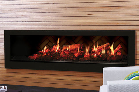 Image of Dimplex 55'' Opti-V Duet Virtual Built-In Eelectric Fireplace