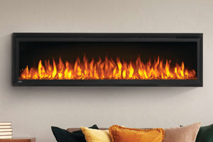 Napoleon Entice 60 inch Wall Mount Recessed Linear Electric Fireplace | Built in Electric Insert | NEFL60CFH | Electric Fireplaces Depot