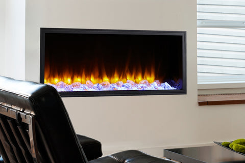 Hearth & Home SimpliFire Scion 43-inch Built-In Linear Electric Fireplace | SF-SC43-BK | Modern Electric Fireplace  |  Electric Fireplaces Depot