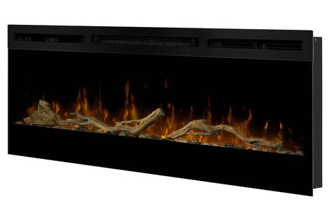 "Image of Dimplex Prism 50"" Wall-Mount Linear Electric Fireplace"