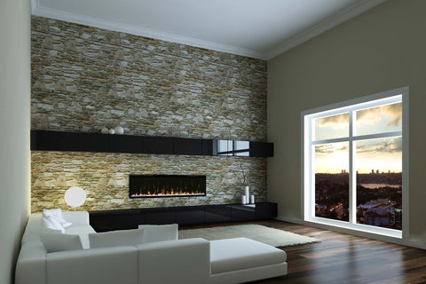 Image of Dimplex IgniteXL 50 inch Linear Built in Electric Fireplace - XLF50 - Electric Fireplaces Depot
