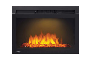 Napoleon Cinema 24'' Built-In Electric Firebox Insert w/ Glass