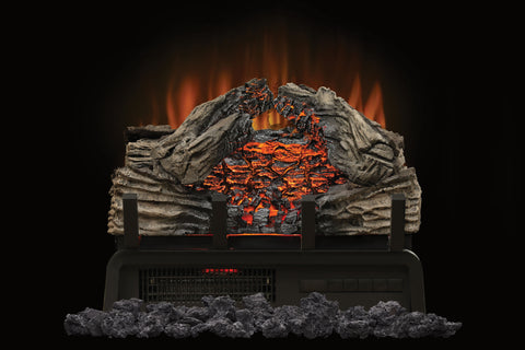 Image of Napoleon Woodland 18 Inch Electric Fireplace Logs Insert - Heater - Log Set - NEFI18H - Electric Fireplaces Depot