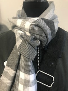 Checked Scarf - Unisex