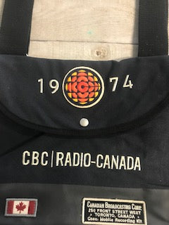 CBC Radio over the shoulder bag