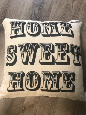Home Sweet Home Decortive Pillow