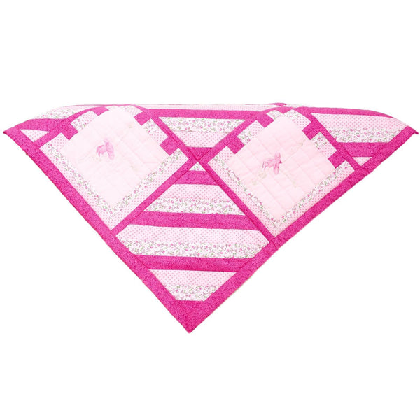 Baby Comforter - Cerise Pink
