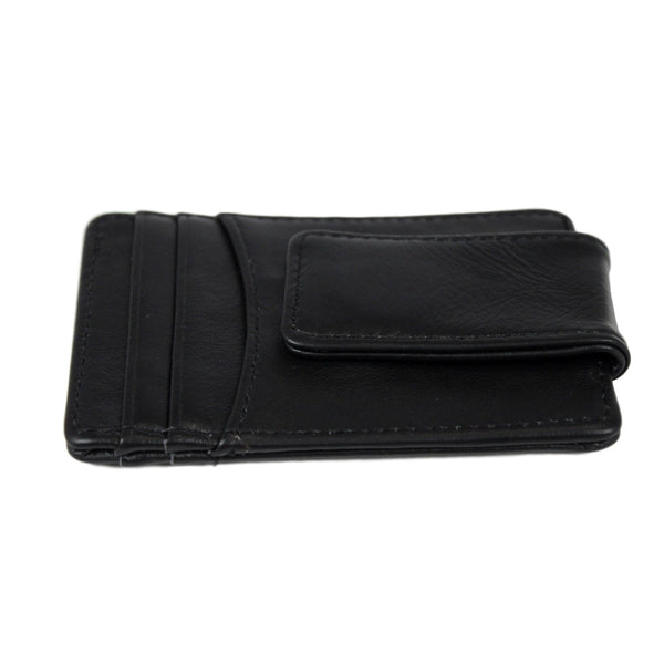 Antimagnetic Men Genuine Leather Business Card Holder