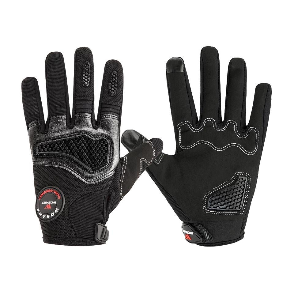Cycling Gloves Full Finger - Black