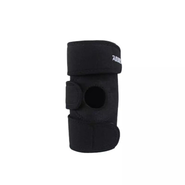 Elastic Knee Support Brace - Adjustable - Black