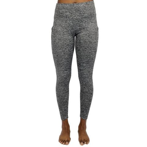High Waist Women Sports Leggings - Grey