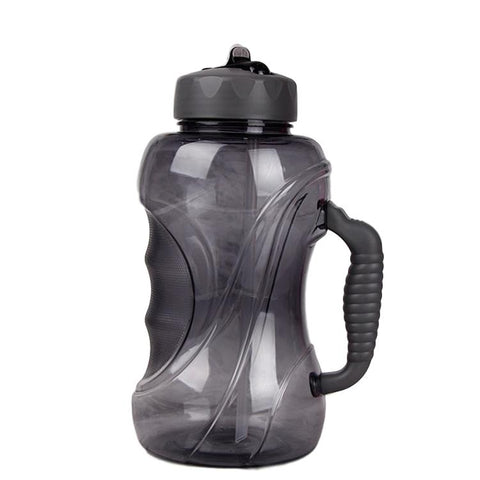 Large sports water bottle- Black