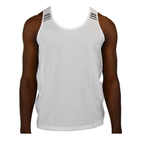 Mens Gym Vest - White