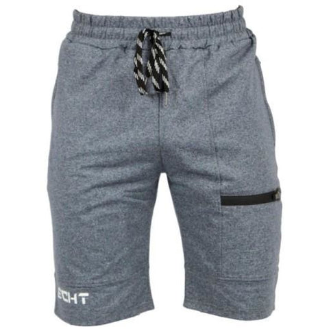 Shorts - Mens Gym Shorts - Navy/Gray