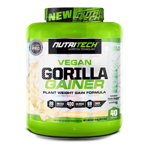 Gorilla Gainer - Mountain Vanilla - 4Kg