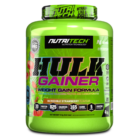 Hulk Gainer Strawberry - 4Kg