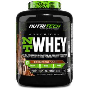 Notorious Nt Whey 6,6Lb - Chocolate Milk - (3Kg)