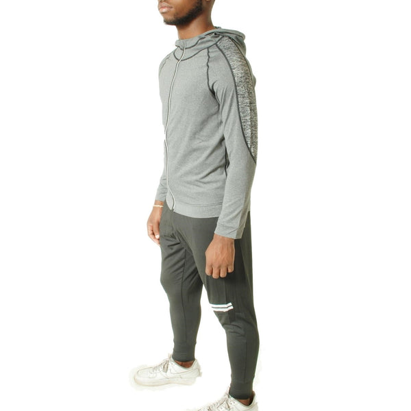 Men's Running Tracksuit 2 Peace Sets - Grey