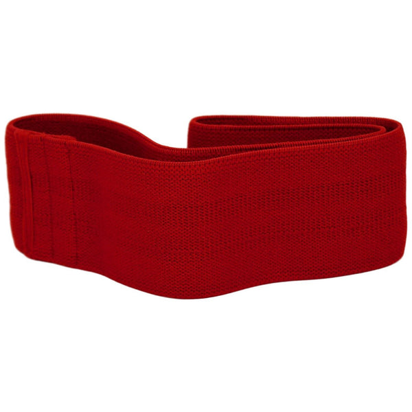 Unisex Hip Resistance Band Non-Slip - Red