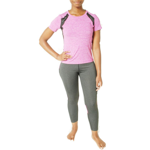 Women Compression Running Suit - Pink