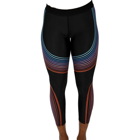 Women Gym Compression Leggings - Black