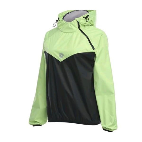 Women Sauna Sweat Jacket Body - Lime