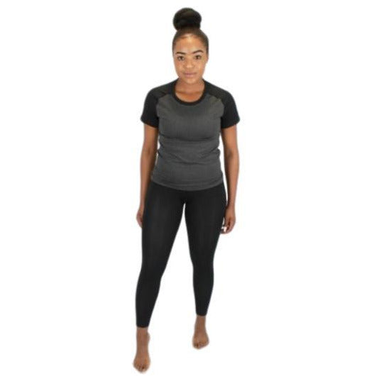 Women Compression Pants - Black