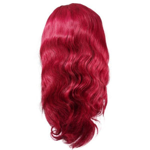 Burgundy Dream Front Lace Wig