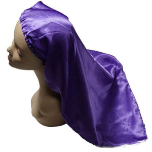 Long Silk Bonnet
