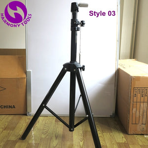 HARMONY 1 Piece LF-1057 Black Adjustable Tripod Stand Holder for Display Training Doll Head Hairdressing Practice Mannequin Head