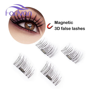 Magnetic Eyelashes - Ultra Thin 3D Fiber Reusable Best Fake Lashes Extension for Natural, Perfect for Deep Set Eyes & Round Eyes