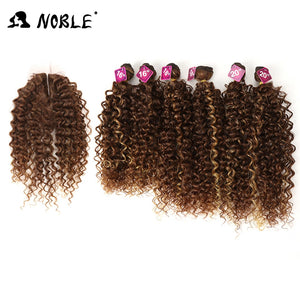 16-20 inch 7Pieces/lot Afro Kinky Curly Hair Bundles