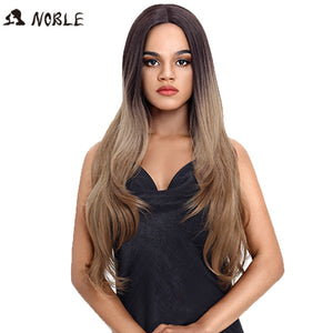 32 Inch Long Straight Hair Ombre  Wig