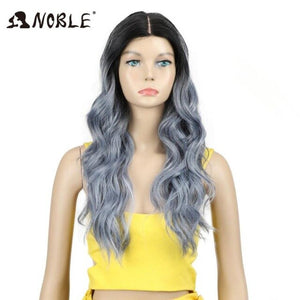24 Inch Long Wavy Synthetic Wigs