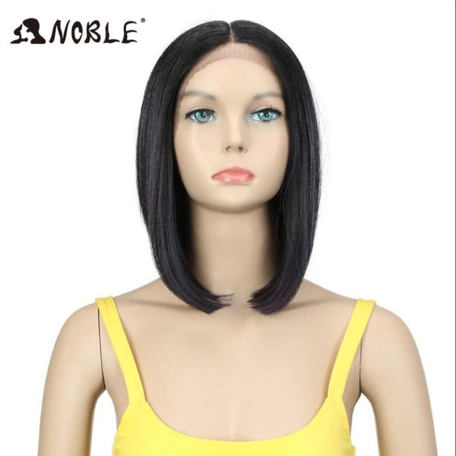 14 Inc Bob Synthetic Hair Synthetic Lace Front Wig