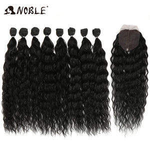 20-24 Inch 8pcs/lot Afro Kinky Curly Hair Ombre Bundles
