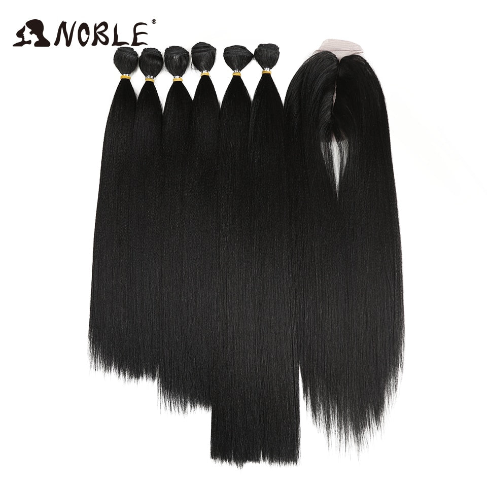 7Pcs/Pack Ombre Bundles Hair Extension Bundles