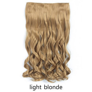 "20"" Long Wavy 5 Clips In Hair Extension"