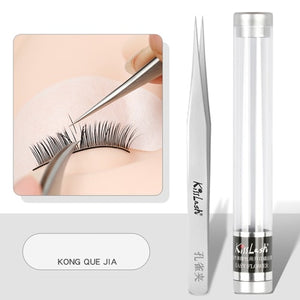 Tweezer 3D/6D Volume Eyelash Extension Best Quality easy Fan Lash Tweezer Anti Acid Ultra Precision Stainless Tweezers for lashs