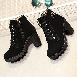 Brooklyn High-Heel Boots