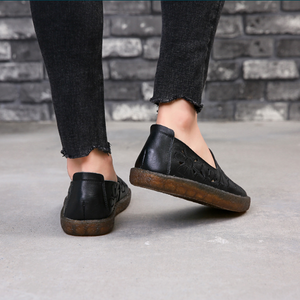 Betty Leather Loafers