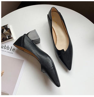 Chieko Leather Shoes