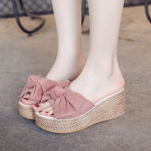 Delilah Bow Princess Slippers
